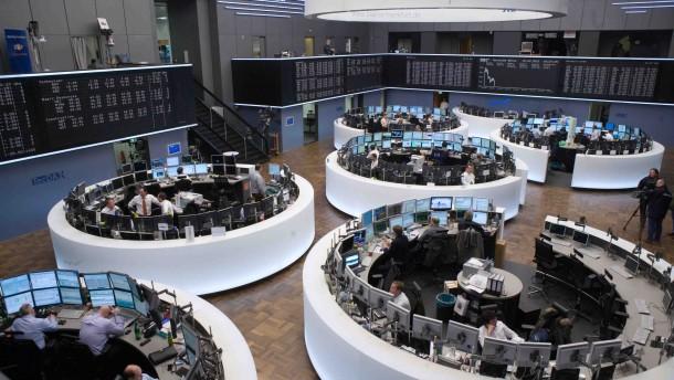Angst um die Börse