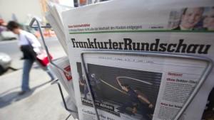 Umbau bei Frankfurter Rundschau beschlossene Sache