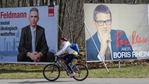 Umkämpfte Wahlkreise in Frankfurt