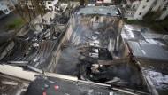 Großbrand in Farbenfabrik