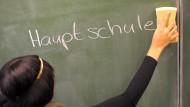 Auslaufmodell: Neue Hauptschulen soll es in Hessen zukünftig nicht mehr geben.