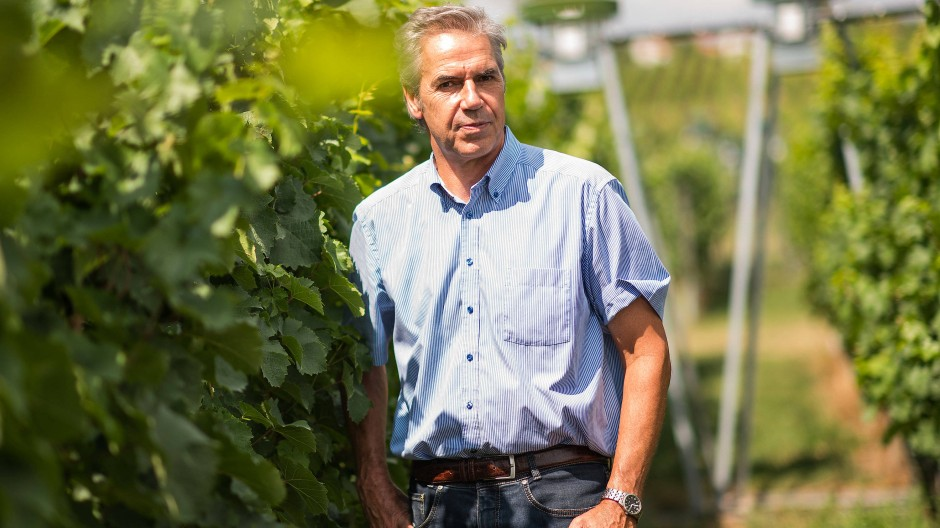 Glücksfall: Prof. Dr. Reiner Schultz, Präsident der Hochschule Geisenheim