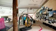 Interaktiv: Ausstellungsstücke im Vulkaneum in Schotten