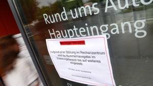 Hacker greifen Zulassungsbehörden in Hessen an
