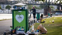 """Zunehmend Müll und """"andere Hinterlassenschaften"""""""