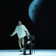"""Theaterdonner: In Darmstadt, hier eine Szene aus """"Ödipus"""", müssen die staatlichen Bühnen mit einer Etatsperre wirtschaften."""