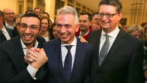 Triumphaler Wahlsieg für Peter Feldmann in Frankfurt