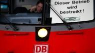 Neunstündiger Lokführerstreik beginnt