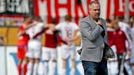 Geschäftsführer Clemens Krüger will mit dem FSV Frankfurt zurück in die zweite Liga.