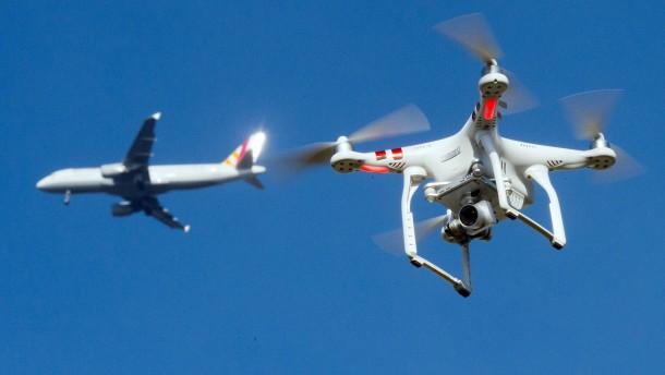 Frankfurter Flugverkehr abermals von Drohne gestört