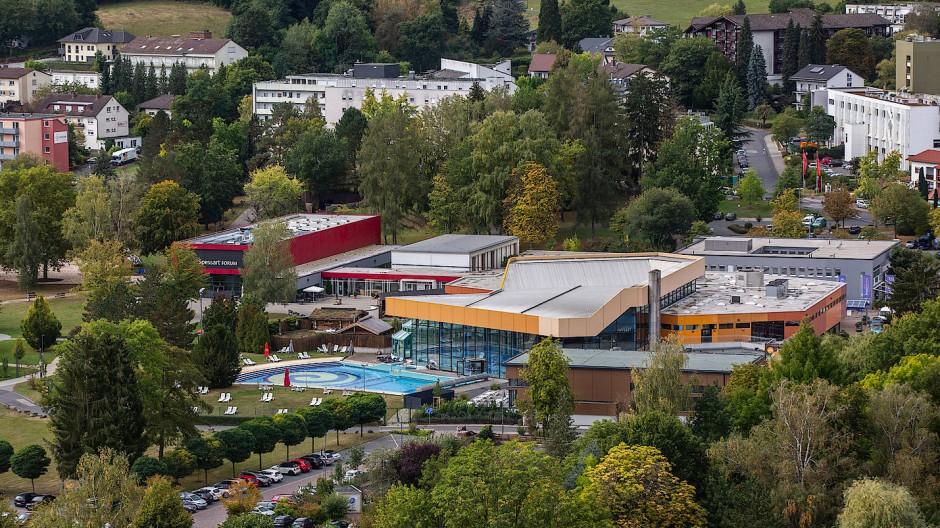 Ein Schließtag kostet 7500 Euro: Spessart-Therme in Bad Soden-Salmünster