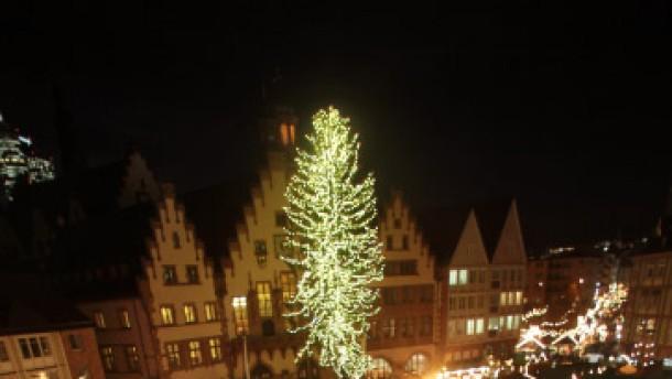 Kuhglocken-Gruß für Hessens größten Weihnachtsmarkt