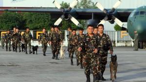 Philippinische Armee soll eingeschritten sein