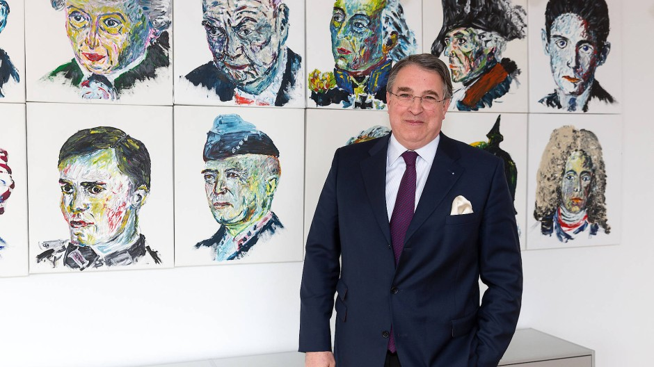 Unternehmer aus Leidenschaft: Stefan Knoll, Gründer und Chef der Deutschen Familienversicherung