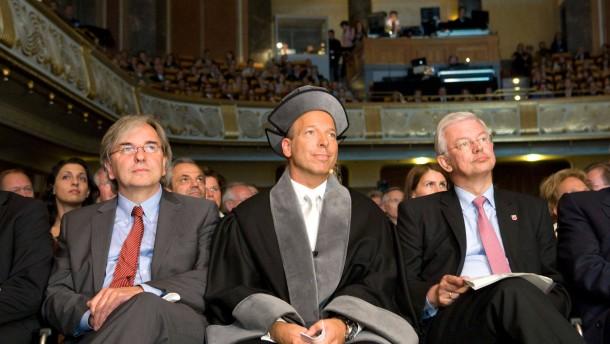 Law School der European Business School - Festakt zur Gründung juristischen Fakultät der European Business School mit Ministerpräsident Roland Koch und Universitätspräsident Christopher Jahns.