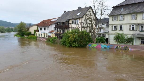 Hochwasserlage entspannt sich langsam