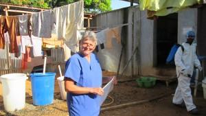 Isolierstationen für genesende Ebola-Patienten