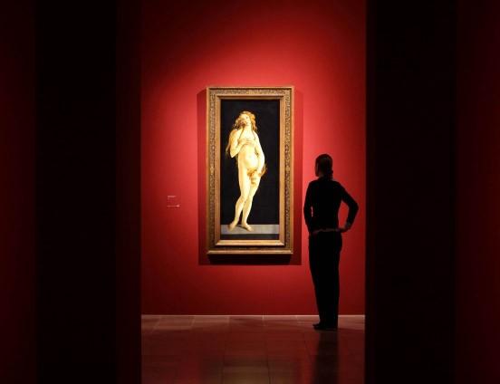 """Ein Star der Botticelli-Ausstellung in Frankfurt ist die """"Venus"""", aber es gibt noch mehr zu sehen"""