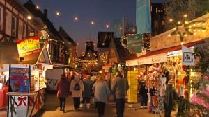 Rüdesheimer Weihnachtsmarkt ein Raub der Flammen