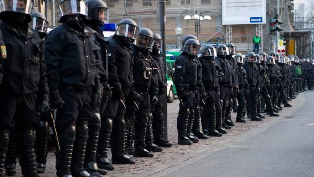 Aufgeheizte Stimmung in Frankfurt befürchtet