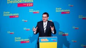 Parteichef beklagt Drohungen gegen hessische FDP