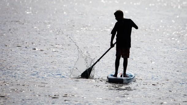 Rätsel um gesuchten Stand-up-Paddler gelöst