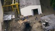 Unglücksort: die Schachtanlage Stolzenbach im Juni 1988