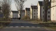Platz für Flüchtlinge: Auch diese frühere amerikanische Wohnsiedlung in Hanau, die Sportsfield Housing, ist als Unterkunft vorgesehen.