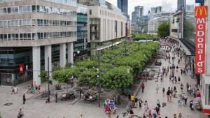 Frankfurt feiert Zeil-Sanierung