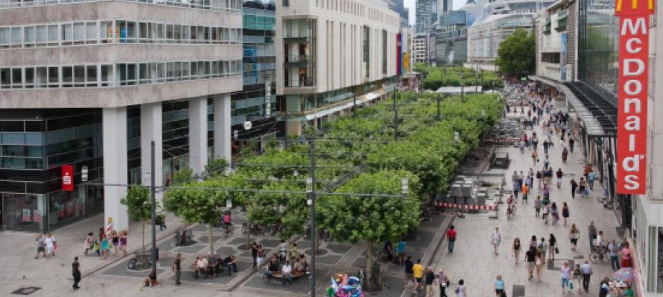 Einkaufsmeile: Frankfurt feiert Zeil-Sanierung - Frankfurt - FAZ