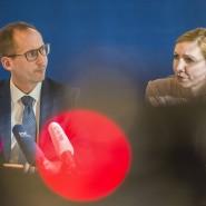 Duo: Minister Klose und Virologin Ciesek besuchten R-Biopharm gemeinsam