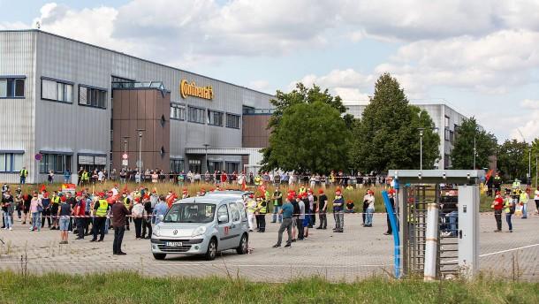 """""""Ordentlich Rabatz"""" für 1100 Arbeitsplätze bei Continental"""