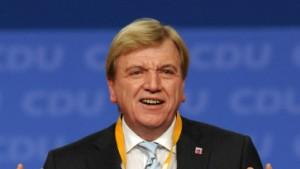 Bouffier zum Stellvertreter Merkels gewählt
