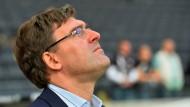 Wird sein Vertrag verlängert? Axel Hellmann, Finanzvorstand von Eintracht Frankfurt.
