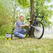 """Mobil: Der """"Mobile Outdoor Cleaner"""" ist ein auch bei Frauen beliebtes Endgerät"""