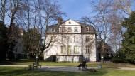 Wir wird es hier zukünftig aussehen? Das Museum der Weltkulturen in Frankfurt.