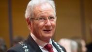 Umstritten: Eschborner Bürgermeister Mathias Geiger