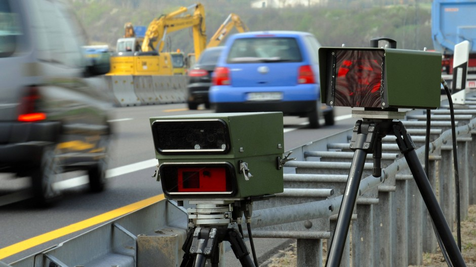 Aufgeklärt: Der mit Tempo 244 in einer Baustelle auf der A3 nahe Raunheim geblitzte Fahrer war in einem Mietauto unterwegs