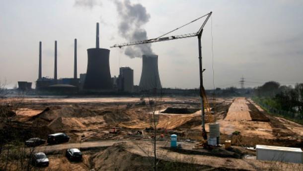 Eon beginnt mit Bau des Kohlelagers