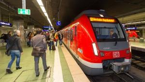 S-Bahn-Linie 8 muss Umwege fahren