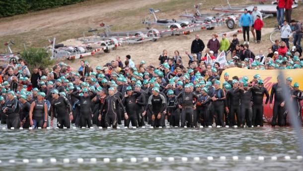 """Rekord-Teilnehmerzahl beim """"Ironman"""""""