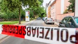 Großer Polizeieinsatz nach Schüssen in Frankfurt-Griesheim