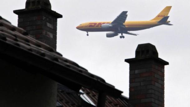 Streit um Verteilung des Fluglärms