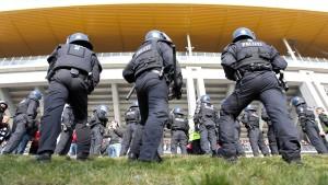 Teure Polizeieinsätze