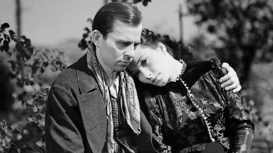 """Erst geliebt dann verfemt: Joachim Gottschalk (in """"Du und ich"""" mit Brigitte Horney) nahm sich das Leben, als er deportiert werden sollte."""