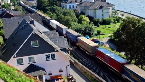 Millionen für Schallschutz am Mittelrhein