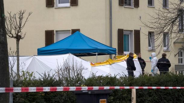 Zwei Tote nach Schüssen in Darmstadt aufgefunden
