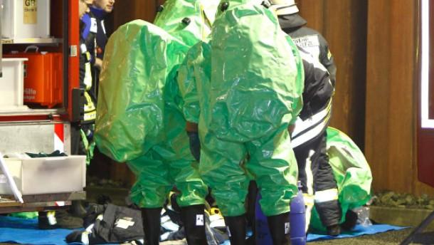 Großalarm und mehr als 30 Verletzte bei Giftunfall