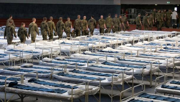 Flüchtlingslager nicht abschotten