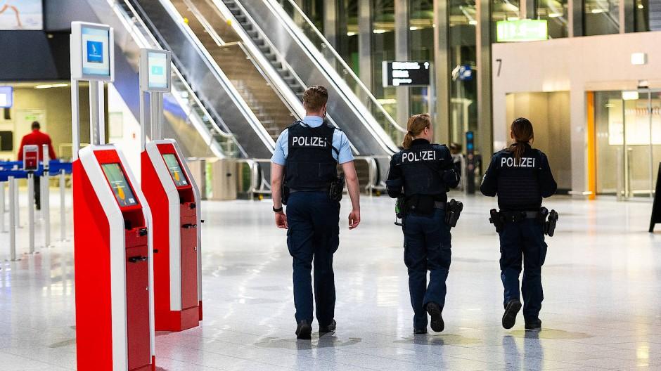 Drohung: Das Terminal 1 des Frankfurter Flughafens wurde geräumt (Symbolbild).